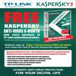 TP-Link Free Kaspersky Anti Virus 2011
