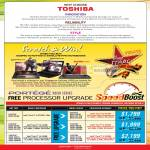 Why Choose Toshiba Scratch And Win Free Processor Upgrade