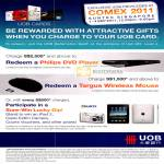 Charge Rewards Redeem Philips DVD Player Targus Wireless Mouse Sure Win Lucky Dip IPad 2 Casio Exilim Digital Camera