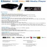 S100 Media Player HDMI Bittorent USB