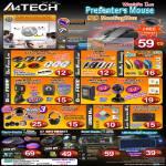 A4Tech G10 MeetingMan K4-61X 28D Laser Mouse Pointer Wireless X6-73MD Mini Q3310 Webcam PK-333E PK-836MJ Headset Keyboard Gaming XG-760