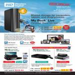 External Storage My Book Live Personal Cloud Storage Media Player TV Live Hub Play