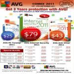 AVG Anti Virus PC TuneUp Internet Security 2011