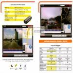Mio MiVue 128 DVR GPS Comparison Tablet