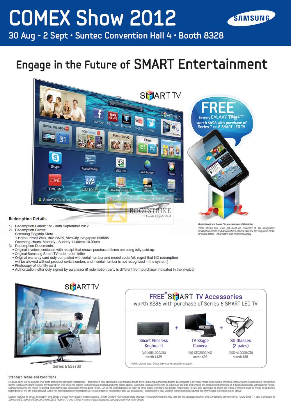 Harvey Norman Samsung Smart TV Series 6 40ES6700 COMEX 2012