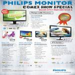 Philips Monitors 22IS3UCB, Blade 2 IPS 239C4HS, AMVA LED 273P3QP7EB, IPS 227E3QPHSU, 237E3QPHSU