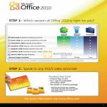 Notebooks Microsoft Office 2010 Comparison Chart
