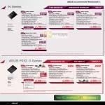 Notebooks N Series N45SL VX035V VX023V V3019V V2G-T1063V, ROG G55VW-IX071V, G75VW-T1272V, G75VW-9Z312V