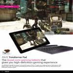 Notebooks Transformer Pad Gaming Tablet