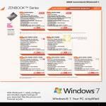 Notebooks Zenbook Ultrabook UX32VD-R3001V R4002V, UX21E KX004V KX019V KX008V, UX31E RY009V RY024V RY029V RY012V RY023V RY010V RY026V