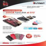 External Storage ISmart, Cases