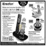 ICreation Dect Phones I-700, I-500, I-400 Bluetooth Handset