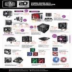 Cooler Master CPU Coolers, Hyper TX3 EVO PWN, CM X6, Vortex 211P, Blizzard T2, Megaflow
