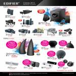 Edifier Speakers M1250, M1380, M1550, M3200, M1360, C3, C11, S530, S730, MP300, E30, E20, I-F600, I-F330i, I-F350i, MP230, IF230