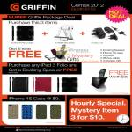 Griffin IPad 3 Folio, IPhone 4S Case