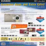 Digital Cameras Exilim EX-Z680, EX-ZS12