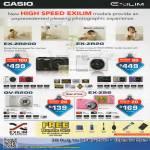 Digital Cameras Exilim EX-ZR200, EX-ZR20, QV-R200, EX-ZS6