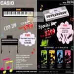 Music Piano Keyboards CDP-200