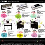 Music Piano Keyboards LK-125, CTK-4000, WK-220, CDP-200, AP-220 BK BN, AP-6BP