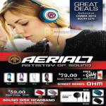 Aerial7 Artistry Of Sound Headset Street Series OHM, Sound Disk Headband