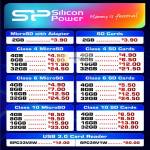 SP Silicon Power Flash Memory, SD Cards, MicroSD, Card Reader