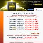 Adata SSD XPG SP900, SX900, SP800