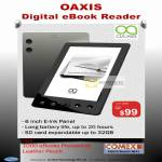 Oaxis Digital EBook Reader