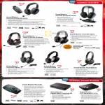 Headphones Sound Blaster Recon3D Omega, Tactic3D, Wrath, Sigma, Alpha, Tactic360 Sigma Ion, External Recon3D, Digital Music Premium HD, X-Fi Surround 5.1 Pro