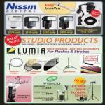 Red Dot Nissin Digital Flash Di466, Di622 MK2, Di866 MK2, GamiLight, Visico Lightstands, Studio Strobes,