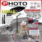 Red Dot Photo Lumia, Chromage Camera Accessories, Sanyo Battery, Flash, DSLR Mic