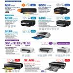 Printers Expression Home XP-30, Stylus Photo T60, Workforce WF-7011 7511, 1390, K100 K200 K300, Pro 3885
