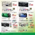 Digital Cameras Finepix JX500, JX550, XP150, XP50, F750, F770
