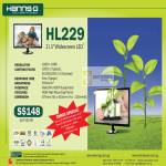 Hanns.G LED Monitor HL229
