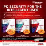 McAfee AntiVirus Plus, Internet Security 2012, Total Protection 2012