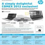 Notebooks Spectre 14-3009TU Ultrabook, Omni 27-1095d Desktop PC, Beats Solo HD Headset, External Storage, Keyboard, HD-3100 Webcam, Mouse