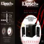 Klipsch Promedia Vengeance Speakers, Earphone Features
