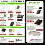 Jim & Rich HTC Case, Pouch, Bluetooth Audio Dongle, Charger