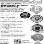 IRobot Vacuum Cleaners Roomba 530, IRobot Roomba 564, IRobot Roomba 780, Scooba 385