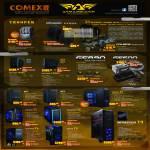 Armaggeddon Trooper Bag, Gaming Mats, Voltron Case T750S T1000G, Cooling Kits, PC Chassis AK2, AK3, Triton T3, Megatron T5, Infinitron T9