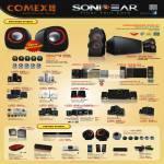 Powerlogic Sonicgear Speakers Armaggeddon Ultra A7, A3, A5, Evo 3 Pro, 5 Pro, Tatoo 101, 303xb, Pro 321X, Duo 3, Duo V, 525, E202, Morro 3, Enzo, 2Go