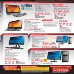 AIO Desktop PCs IdeaCentre B320, B540, B540p, C320, H520s, K430