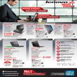 Notebooks Thinkpad X Series X220, X230, Edge E430, T430