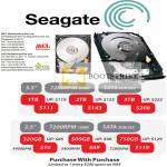 Ace Peripherals Seagate Hard Disk HDD Storage