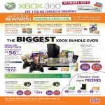 Xbox 360 Family Pack, Live Online Packs, Gold Membership, Kinect