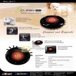 Navicom Agait Eclean Mini Robotic Vacuum Cleaner Features, Specifications