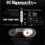 Newstead Nubox Klipsch Earphones Features, Hidden Controls, Mic, Remote, Oval Eartips