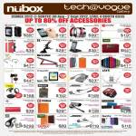 Nubox Tech Vogue Apple Accessories XtremeMac, Macally, Exogear, Soul SL100, Klipsch S4i Earphone, Bose, LunaTik, Jays, Moshi, Jabra, MiPow, Case, Headset