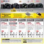 Digital Cameras DSLR D7000, D3200, D90, D5100, D3100, Nikkor