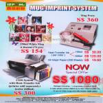 Sepoms Mug Imprint System, Mug Press, CISS System