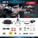 Digital Camera OM-D E-M5 World's Fastest AF Tripod, Leather Neck, Camera Strap